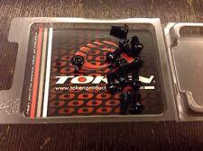 Token DISK ROTOR BOLTS SCREWS 12 PCS Black Anodized