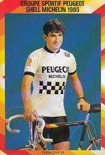 DIDIER GARCIA cyclisme card carte Equipe vélo Cycling Ciclismo PEUGEOT 85