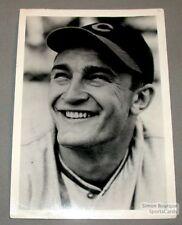 1940s Frank McCormick Cincinnati Reds Baseball Photo