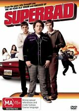 Superbad (2007) Jonah Hill, Michael Cera, Seth Rogen - NEW DVD - Region 4