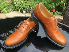 Dr Martens Henrietta camel brown leather 4 eye lace up shoes UK 7 EU 41 RRP £100