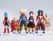 Super Dragon Ball Heroes Skills Figure 02 FULL SET 6pcs Avatar BANDAI Gashapon