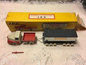 J.R.D. Kronenbourg Ref. 123 Tractor Trailer Romorque Rail - Die Cast Model Boxed