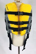 Body Glove Wake Boarding Ski Vest Type III PFD Size CHILD 30-50lbs Yellow Gray