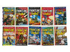 Frontline Combat 1-10 EC Comics reprint Gemstone 1995 set COMIC BOOKS