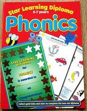 Phonics Reading English Educational Activity Book age 5 6 7 School Literacy KS1