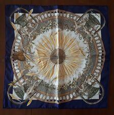 Hermes Annie Faivre Vintage Silk Scarf