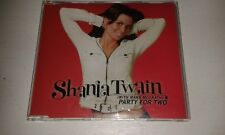 SHANIA TWAIN PARTY FOR TWO CD SINGLE WITH MARK MCGRATH