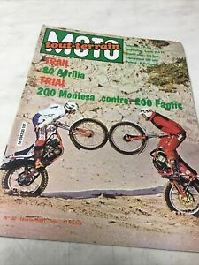 Moto Tout-Terrain 30 1981 Montesa Fantic 200 Trial Aprilia 80 préparation PE250