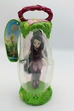 Disney Store Tinkerbell Fairies VIDIA Petal Case Doll Toy Figure Peter Pan