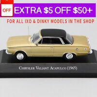 1/43 IXO CHRYSLER VALIANT ACAPULCO 1965 Die Cast Car Model Rare Collection