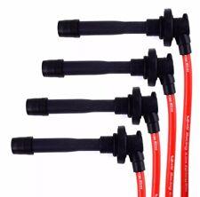 RACING HIGH CONDUCTIVE RED SPARK PLUG WIRES SET FITS 91-99 SENTRA SR20DE 10.2MM