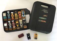 Vintage Aurora AFX Slot Car Lot With Case