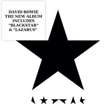 DAVID BOWIE BLACKSTAR CD NEW 2016
