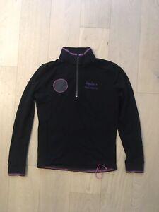 RAPHA PAUL SMITH Cycling Long Sleeve Jersey Men's 100% Merino Wool Black Pink S