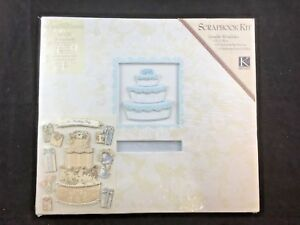 K & Company 12 x 12 Wedding Scrapbook Kit New Post Bound (G9)