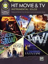 Hit Movie & TV Instrumental Solos for Flute Sheet Music Book/CD Lego Movie Flash