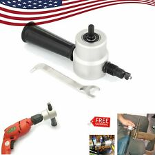 Double Head Sheet Metal Nibbler Saw Cutter Cutting Tool Power Drill Attachment C