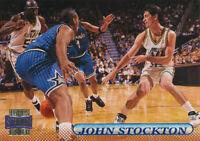 John Stockton 1996-97 Topps Stadium Club #32 Utah Jazz card Hall of Fame HOF