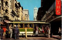 California CA Cable Cars San Francisco Postcard Old Vintage Card View Standard
