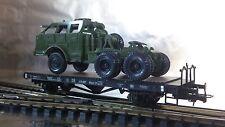 * Liliput 221551 DB Flat Wagon Xflmmr 37 Bremserbühne  Era 3 1:87 HO