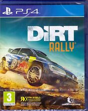 DiRT Rally [PlayStation 4 PS4, Region Free, Rally Champion Racing] NEW