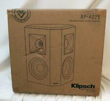 Klipsch Reference Premiere RP-402S Surround speakers- pair (Black)