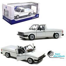 Solido 1:18 - 1982 Volkswagen Caddy MK1 (White) - Diecast Model