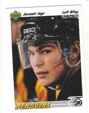 JAROMIR JAGR Upper Deck 1991-92 #256 NM-MT NHL Pittsburgh Penguins