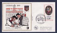RARE  BLOC   CNEP   NUM. 11   Lyonnais  surcharge   1989  sur enveloppe