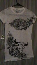 White Legendary Sturgis Buffalo Chip 2012 Biker Top - Size Medium