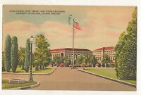 Campus Drive, Library Science UNIVERSITY OF ARIZONA Tucson AZ Vintage Postcard