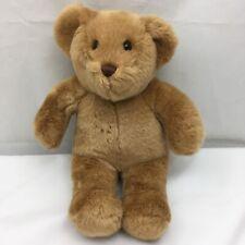 """Tan Brown Teddy Bear Soft Cuddly Build A Bear Babw Plush 13"""" Toy Lovey"""