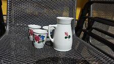 Lilienporzellan 5 teiliges Set sehr schön