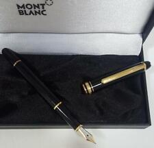 Pluma estilografica Mont Blanc Meisterstuck 4810 modelo 144 gold 14K Montblanc