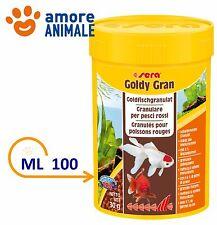 Sera Goldy  Gran  Mangime in Granuli per Pesci Rossi Acquario - 100 ml