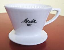 Melitta Kaffee Filter 101 Porzellan 4 Loch Nachlass Dachbodenfund