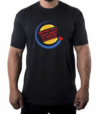 The Way to a Man's Heart is Through Whoppers Tee, Valentine Funny Men's Shirts!