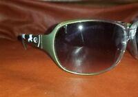 Mossy Oak Green White Camo Womens Rack Sunglasses REW2030 Gray Gradient Lenses