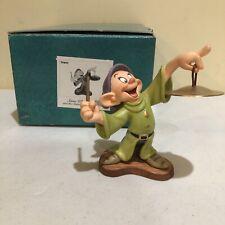SNOW WHITE *DOPEY* Walt Disney Classic Collection  Seven Dwarfs COA Box, WDCC