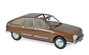 1/18 Norev Citroen GS Pallas 1978 Brown Metallic 181627 cochesaescala