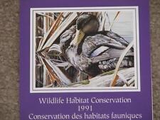 Canada -Duck, 1991 Wildlife Habitat Conservation Stamp