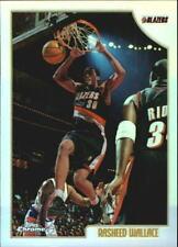 1998-99 Topps Chrome Refractors Blazers Basketball Card #101 Rasheed Wallace