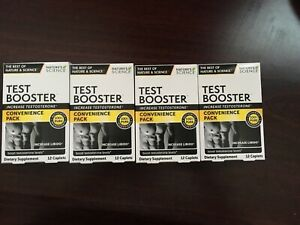 (4)Test Booster Nature's Science Testosterone Increase Natural Stamina &Libido