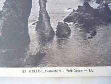 Carte postale Port Coton à Belle-île-en-Mer