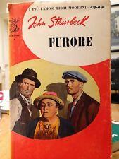 1962 JOHN STEINBECK - FURORE - BOMPIANI