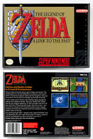 Legend of Zelda, The: A Link to the Past SNES Horizontal Case *NO GAME*