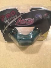 Schutt Adams 4-Point High Hook Hard Cup Football Chin Strap Pro-25 Green 4D-Nb/N