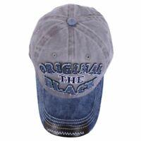 Retro Washed Baseball Cap Fitted Cap Snapback Hat For Men Bone Women GorrasW9M8
