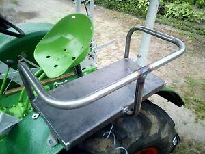Beifahrersitz für Deutz  Kotflügelsitz  Schlepper Traktor